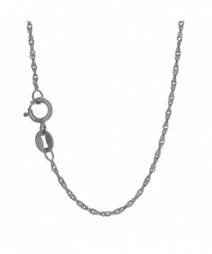 JewelStop Solid Singapore Necklace Spring
