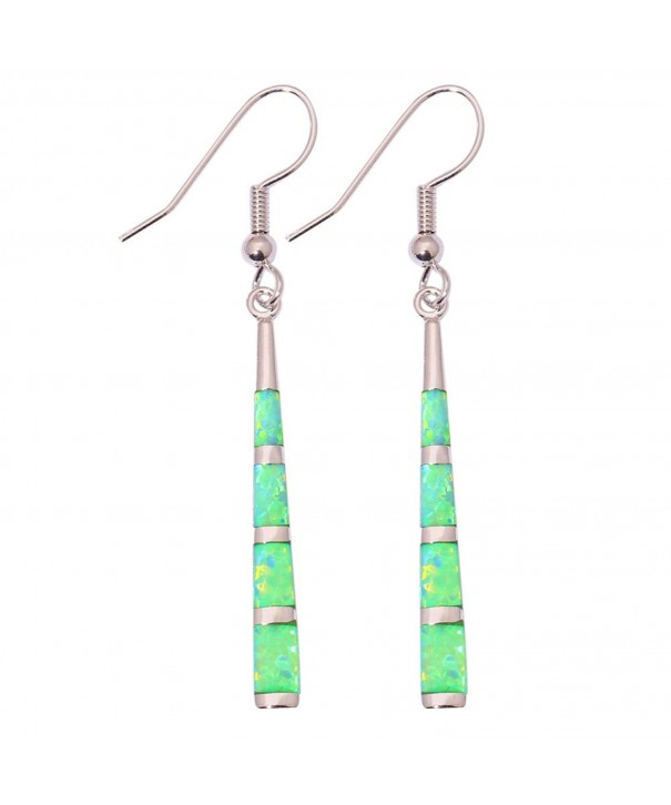 CiNily Created Gemstone Earrings OH3635