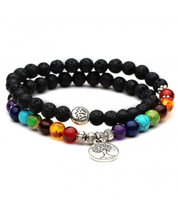Domika Healing Crystal Meditation Bracelet