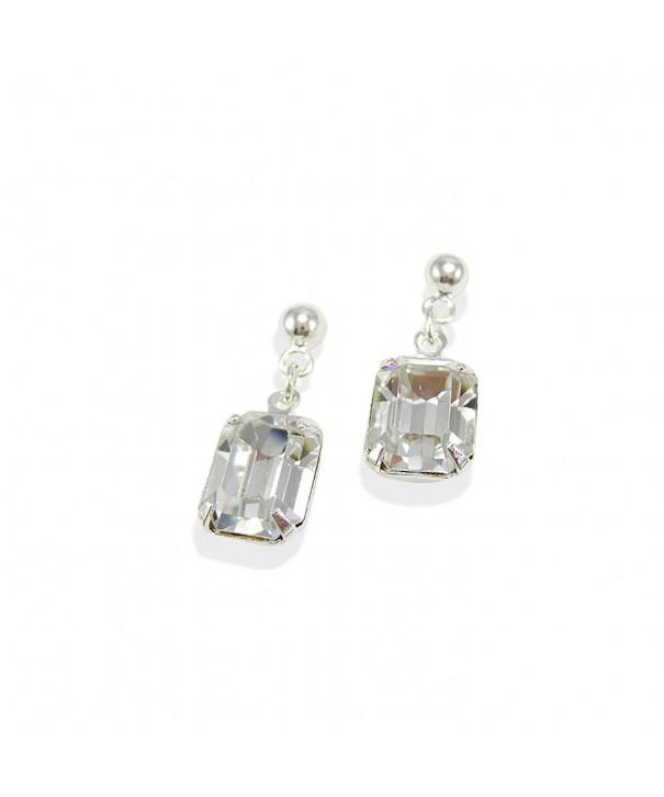LJ Designs Striking Octagonal Earrings