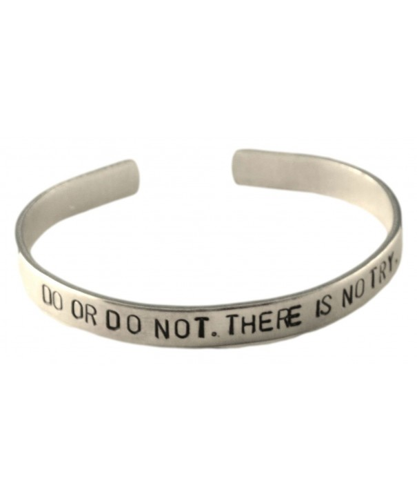 There Hand Stamped Inspired Bracelet