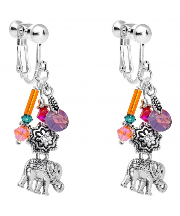 Body Candy Handcrafted Elephant Swarovski