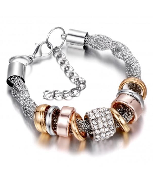 Luxury Bracelet Accents Crystal Jewelry
