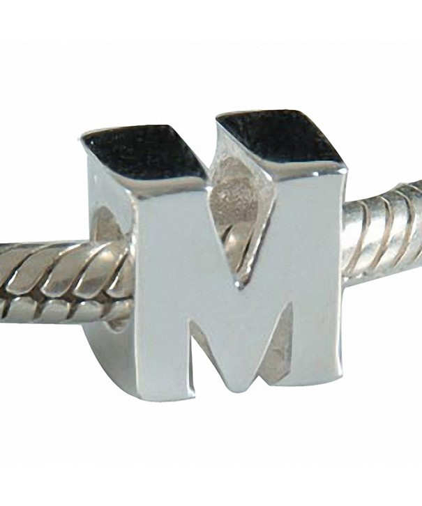 Hoobeads Authentic Sterling Letter Beads