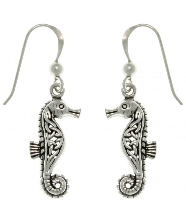 Jewelry Trends Sterling Seahorse Earrings