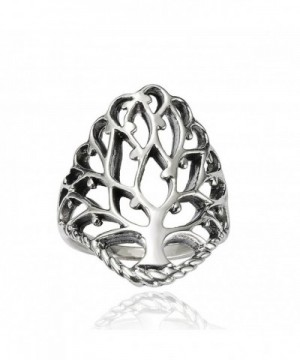 Sterling Silver Detailed Large Celtic