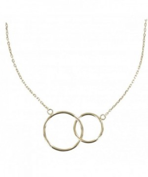 Poulettes Jewels Plated Necklace Circles