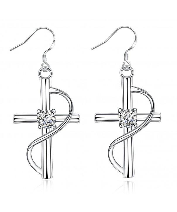 NA BEAUTY Dangling Earrings Zirconium