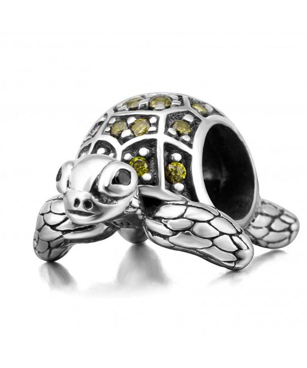 Turtle Original Sterling European Bracelet