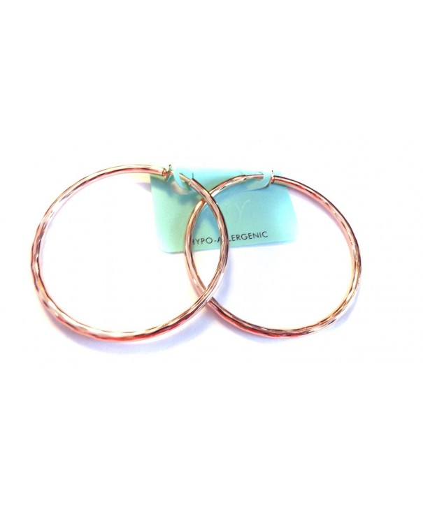 Clip Earrings Hypoallergenic Hoop Inch