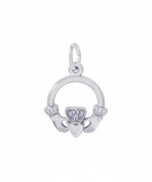 Rembrandt Sterling Silver Claddagh Charm
