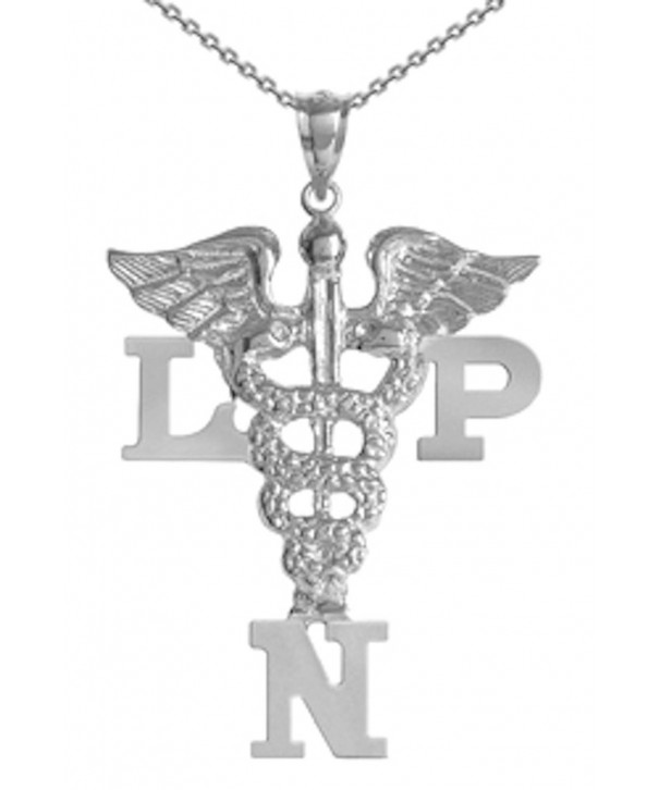 NursingPin Sterling Licensed Practical Necklace