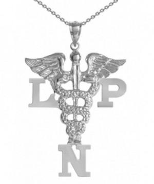 NursingPin Sterling Licensed Practical Necklace