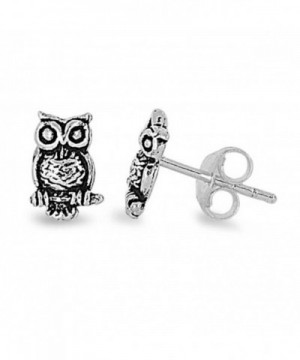 Sterling Silver Visionary Stud Earrings