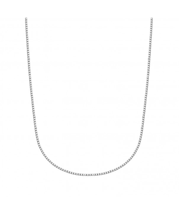 Sterling Silver Mirror Italian Necklace