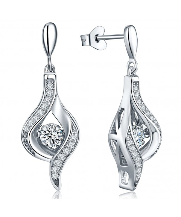 Earrings YL Sterling Zirconia Earrings Cristmas