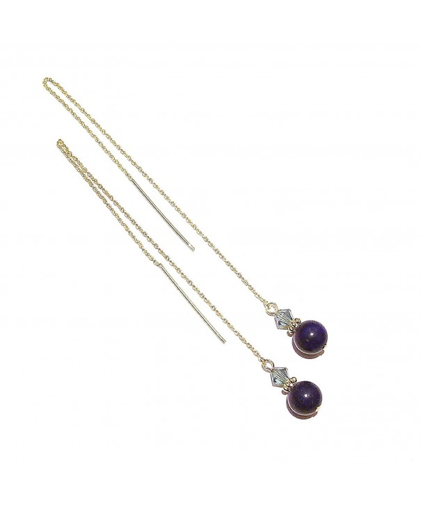Gold Vermeil Gemstone Chain Threads