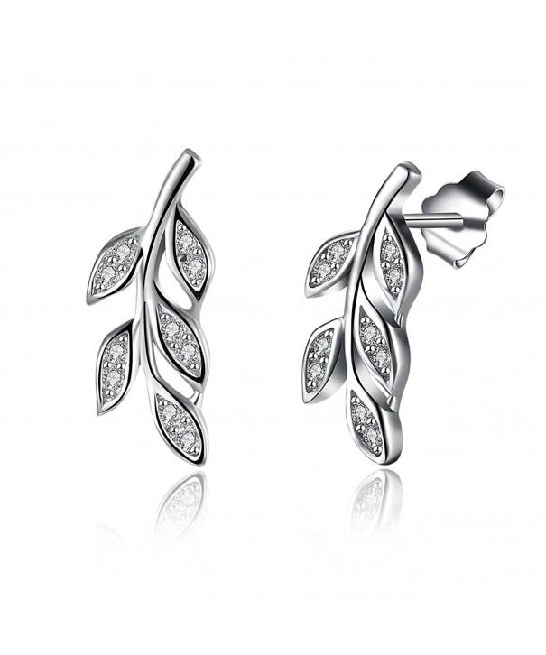 Maxilei Sterling Silver Zirconia Earrings