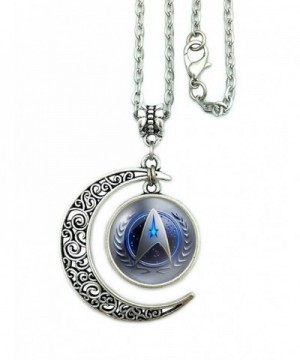 Necklace Starfleet Command Pendant Friendship