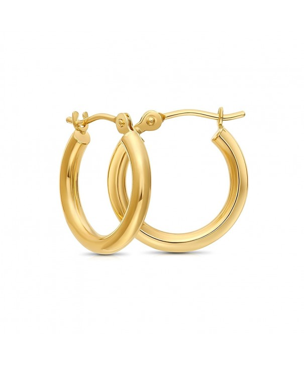 Yellow Extra Earrings Diameter yellow gold