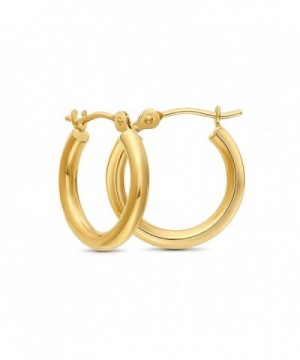 Yellow Extra Earrings Diameter yellow gold