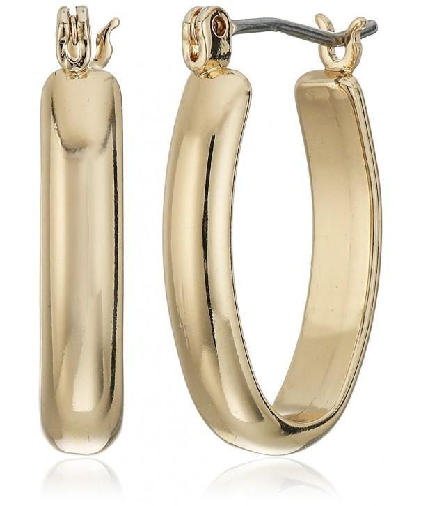 Napier Classics Gold Tone Small Earrings