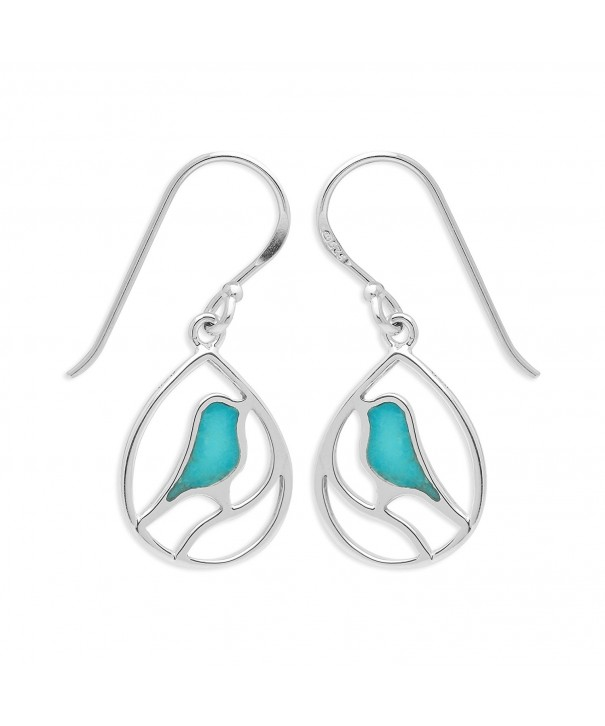 Boma Sterling Silver Turquoise Earrings
