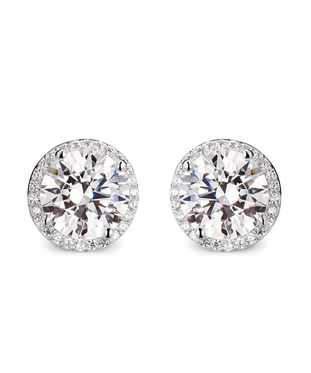 T400 Jewelers Sterling Earrings Zirconia