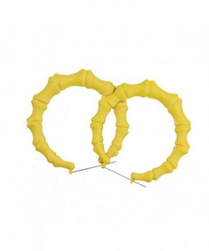 Basketball Inspired Earrings ER43 Yellow