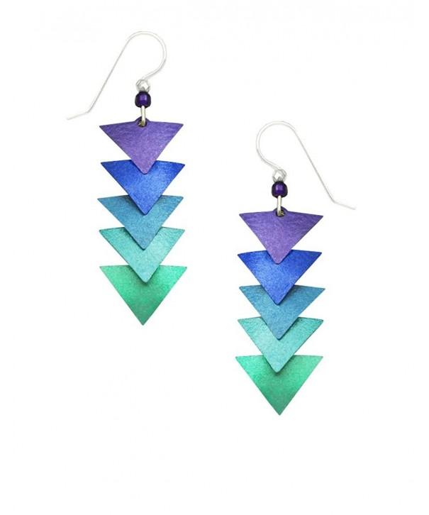 Adajio Cascading Triangle Earrings 7598