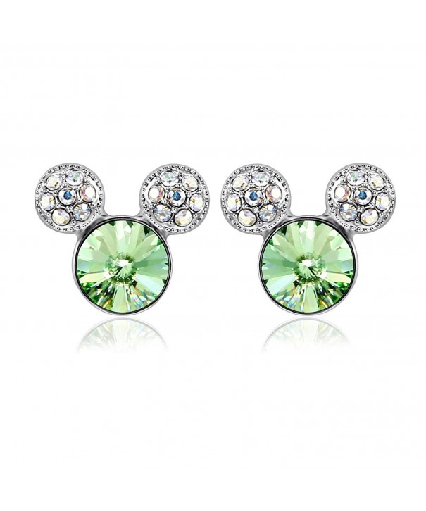 IUHA Colorful Earrings Swarovski Birthstone
