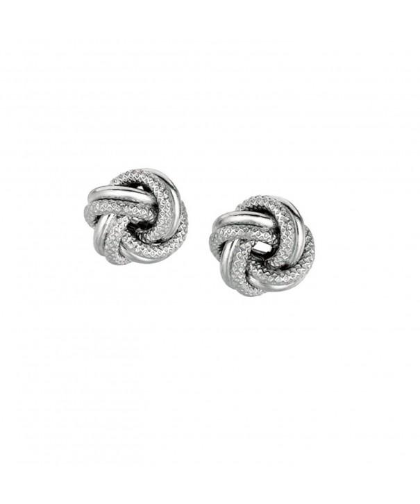 925 Sterling Silver Earrings Loveknot