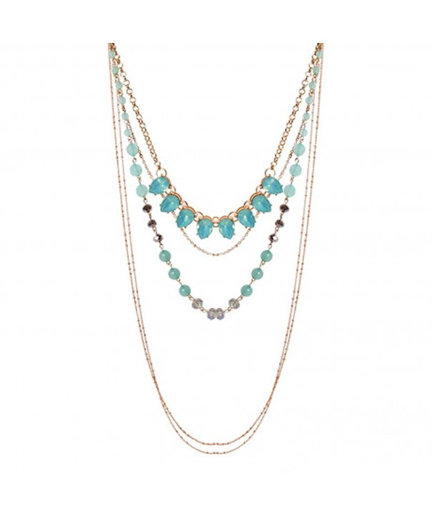 Teniu Fashion Crystal Necklace Valentines