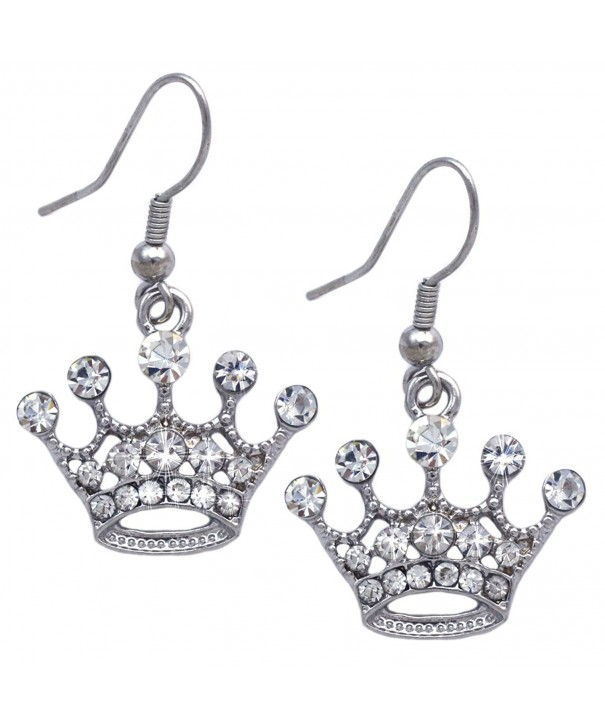 cocojewelry Queen Princess Dangle Earrings