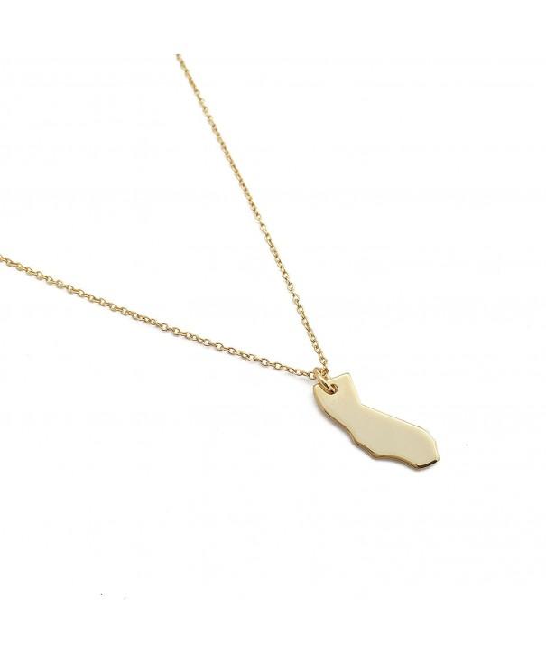 HONEYCAT California Necklace Minimalist Delicate