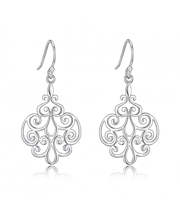 Sterling Filigree Earrings Sensitive Renaissance