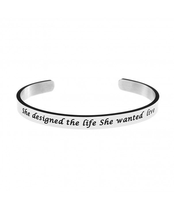 Bangle Bracelet Stainless Jewellery Inspirational