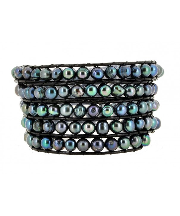 Colored Freshwater Cultured Jewelry Bracelet