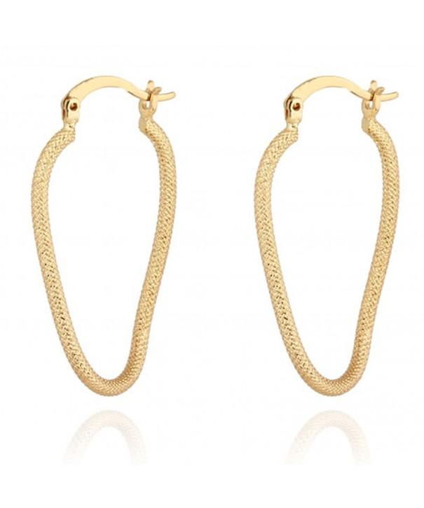 YAZILIND Elegant Plated Earrings Diameter