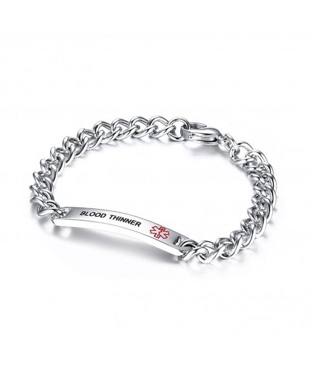 VNOX THINNER Bracelet Stainless Medical