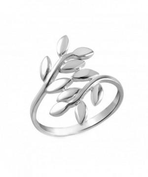 Sterling Silver Vine Leaf Thumb