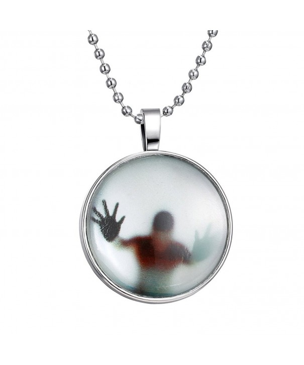 Jiayiqi Pendant Luminous Necklace Halloween