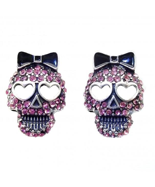 DaisyJewel Halloween Crystal Sugar Earrings