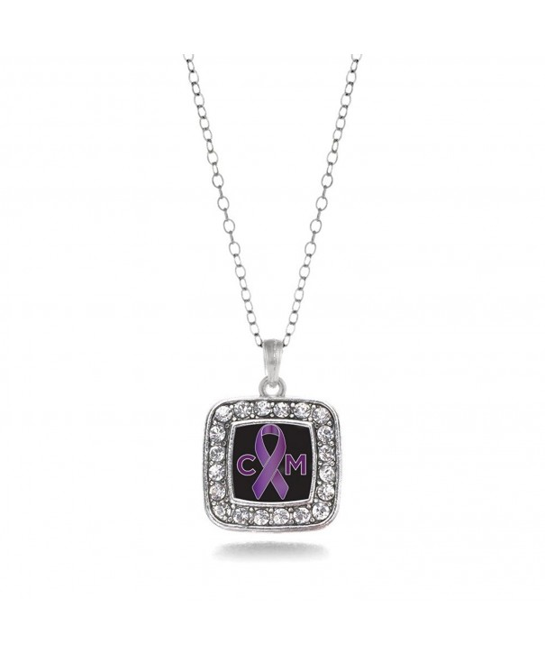 Malformation Awareness Classic Silver Necklace