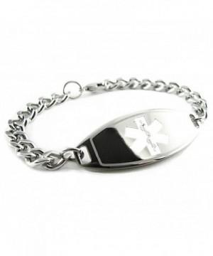 MyIDDr Pre Engraved Customized Hypoglycemia Bracelet