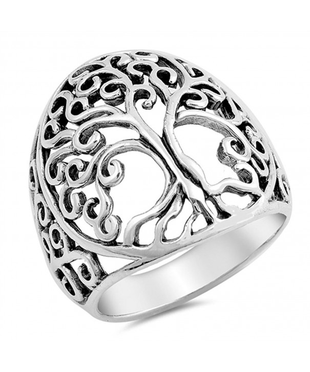 Filigree Sterling Silver Vintage Cutout