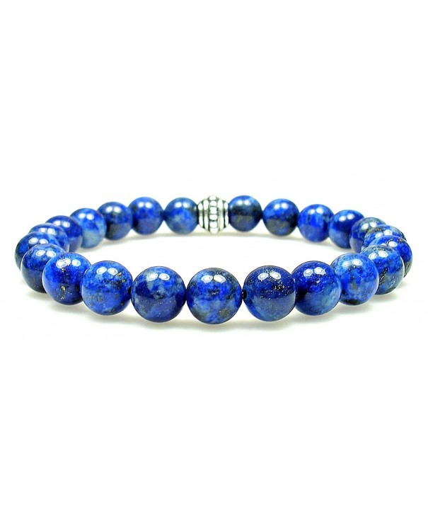 Genuine Crystal Gemstone Bracelet Elastic