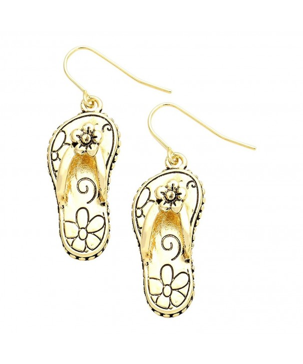 Liavys Filigree Flip Flop Fashionable Earrings