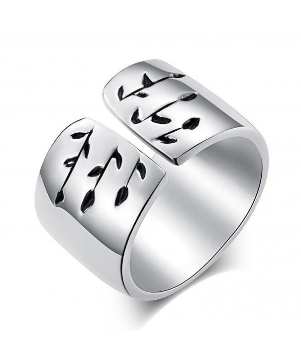 Tree Jewelry Statement Rings Women