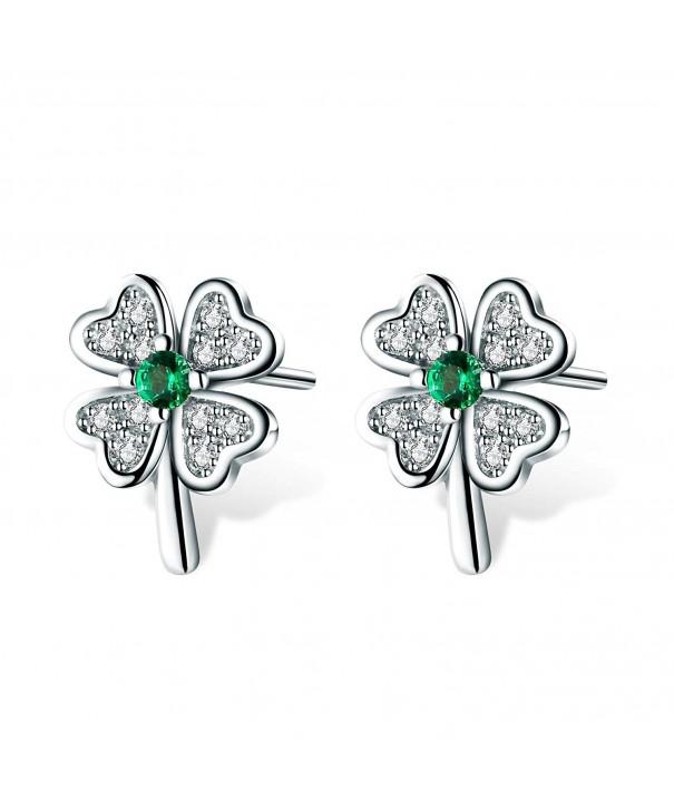 T400 Jewelers Sterling Earrings Zirconia